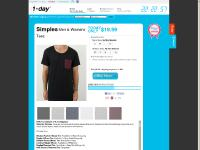1-daytee.co.nz - Buy Tee's Online, Branded Tee Shirts available daily at New Zealand's best prices.