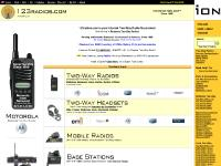 123radios.com Two Way Radios, Two-Way Radios, 2-Way Radios