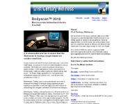 21st Century Wellness - Bodyscan 2010 - biofeedback device