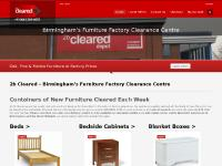 2b Cleared 2b Cleared - Birmingham's Furniture Factory Clearance Centre