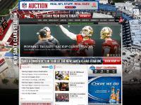 49ers.com Team, Gameday, Tickets