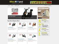 50cc Sports Moped, 50cc Retro Moped, 50cc Ninja Moped, 50cc Viper Moped