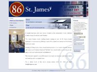 86stjames.com meeting rooms, meeting space, corporate meeting