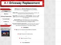 a1driveway.com driveway, driveways, apron