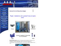 aandapumphousesupply.com Water Well Pumps, Water Well Accessories, Water Well Tanks
