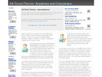 AA Route Planner | RAC Route Planner | AArouteplanner