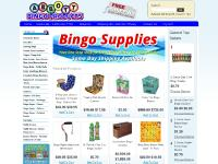 COMPLETE BINGO SYSTEMS, BINGO CAGES, BINGO CHIPS, BINGO DAUBERS