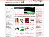 abcsnooker.co.uk snooker cue, snooker cues, pool cues