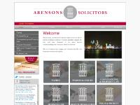 abensons.co.uk People, Services, Regulatory Info