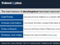 aboutmyplace : UK maps and in-depth, local information for your area