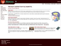 Abacus Brain Study - Brain wave training - image abacus - mental arithematic
