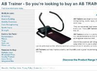 Ab Trainer - Ab Trainer Experts