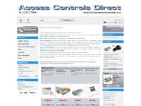 accesscontrolsdirect.co.uk CCTV, intruder, burglar