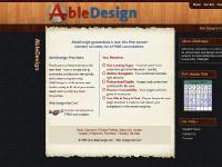 AbleDesign - Web Design that Can!