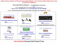Deals on Minelab and Garrett Metal Detector