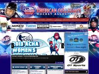 American Collegiate Hockey Association powered by GOALLINE.ca