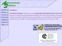 Achievements Seminars Home Page