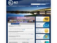 act.gov.au Accessibility, All ACT Gov sites, Services gateway