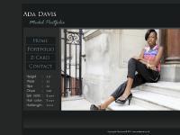 adadavis.co.uk Portfolio, Z Card