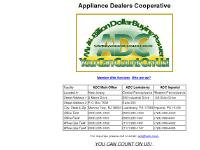 Appliance Dealers Cooperative