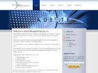 Home - Adeste Managed Networks Inc.