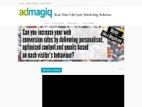 AdMagiq | A real-time behavioural targeting and cross-channel lifecycle marketing