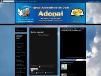 IGREJA ASSEMBLEIA DE DEUS ADONAI PR. JEFFERSON VIEIRA