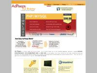 Ad Peeps - banner rotator and text ad server software with geotargeting and Joomla compatible