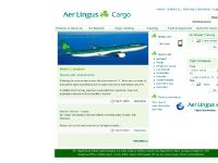 aerlinguscargo.com Products & Services, Our Network, Cargo Handling