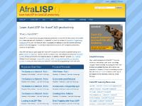 Learn AutoLISP for AutoCAD productivity | AfraLISP