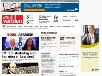 afv.se Börs, Näringsliv, Ekonomi