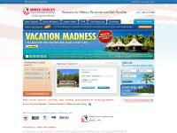 Military Vacations for families from Armed Forces Vacation Club