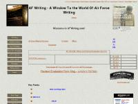 AF Writing - A Window To the World Of Air Force Writing