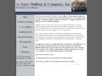 agaryshilling.com Home., INSIGHT Newsletter., A. Gary Shilling.
