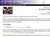 A Grain of Hope Foundation - nonprofit charity