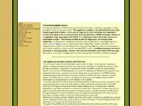 Judges Requirements, Forms/Email Form Request, Judges' List, Events Calendar