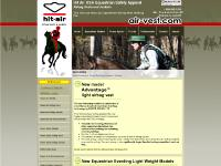 Air-Vest equestrian hit air airbag