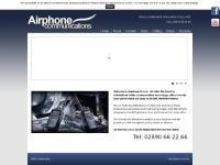 airphoneuk.com digital, radio, walkie talkie