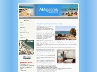 Aktigalinis Apartments in Kalives Chania, Crete - for Holidays in Chania, Crete - Home