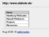 Alahele.de - main page