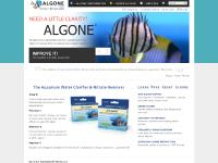 Algone - For Clear Aquarium Water and Healthy Fish Tanks
