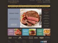 Steaks Online, Prime Beef, and Gourmet Meats - Allen Brothers