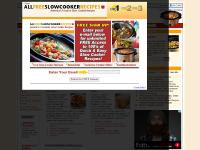allfreeslowcookerrecipes.com crockpot, slow cooker pork chop and rice recipes, slow cooker chicken recipes