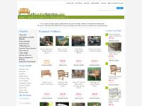 All Garden Benches: the outdoor garden bench and potting bench specialty store