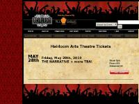 allshows-heirloom.com - Heirloom Arts Theatre Tickets, Danbury, CT | AllShows.com