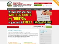 allsuburbs.com.au catering caterer bbq spit roast buffet finger food party quote booking