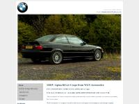 Alpina B8 4.6 Coupe - this stunning E36 model is for sale with WLN Automotive