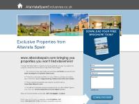 Altavista Property Spain, Michael Liggan, www.altavistaspain.com bring you Exclusive