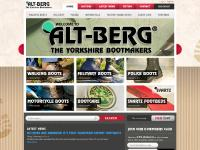 Altberg Bootmakers manufacture hiking boots & walking boots for hill walking also