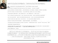 MENSAGEM ESPÍRITA – DIVULGAÇÃO ESPIRITA